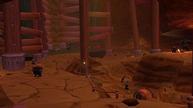 В пещере перед входом в Ульдаман