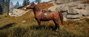 лошади Rust