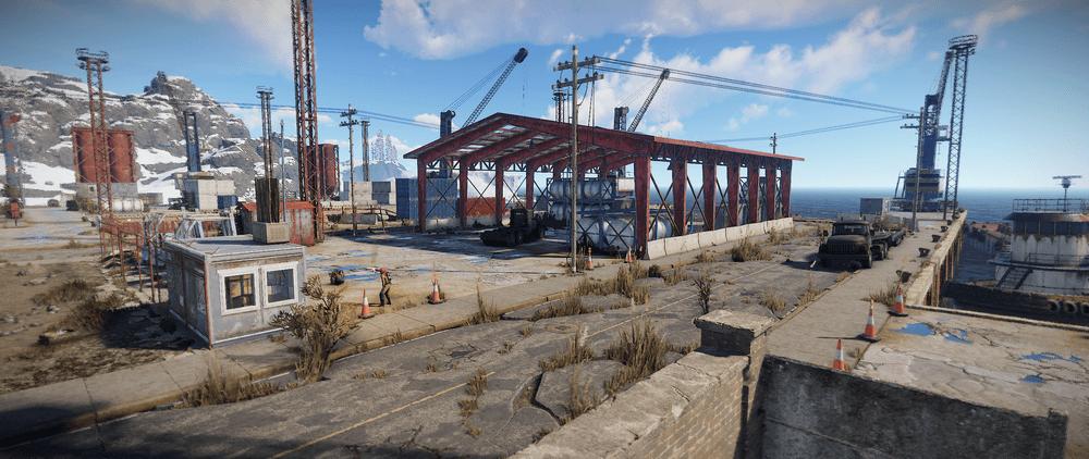 Большой порт Rust
