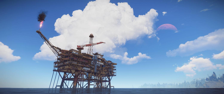 Нерф нефтяных платформ Rust