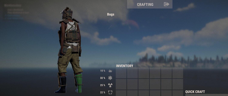Предварительный просмотр персонажа Rust
