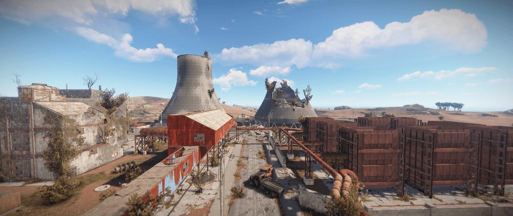 Электростанция (АЭС) Rust