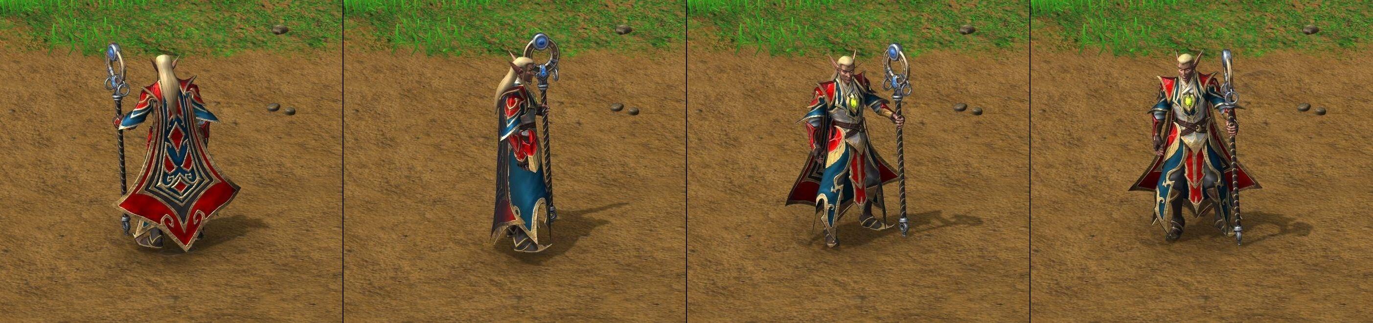 Целитель Warcraft lll