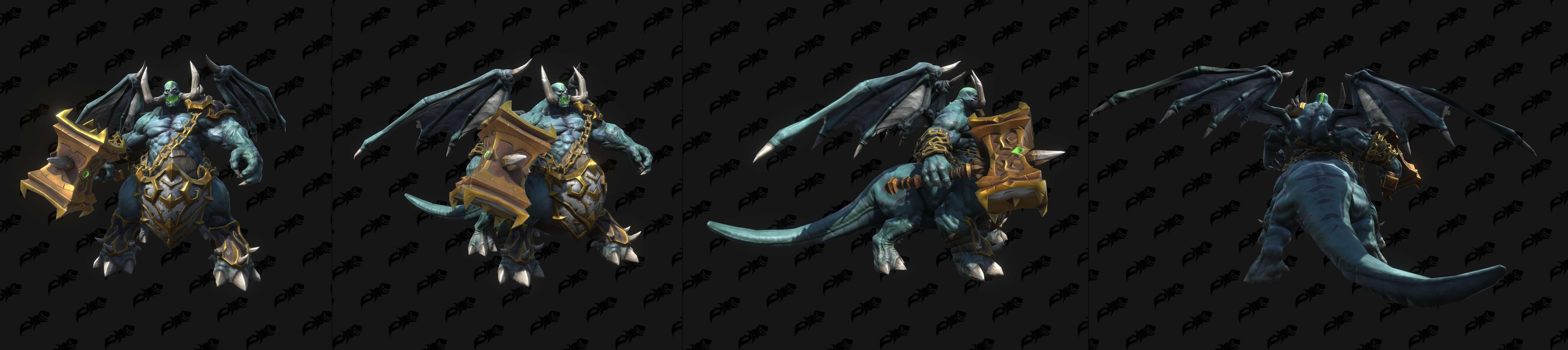 Модели демонов и связанных с ними юнитов из Warcraft III: Reforged