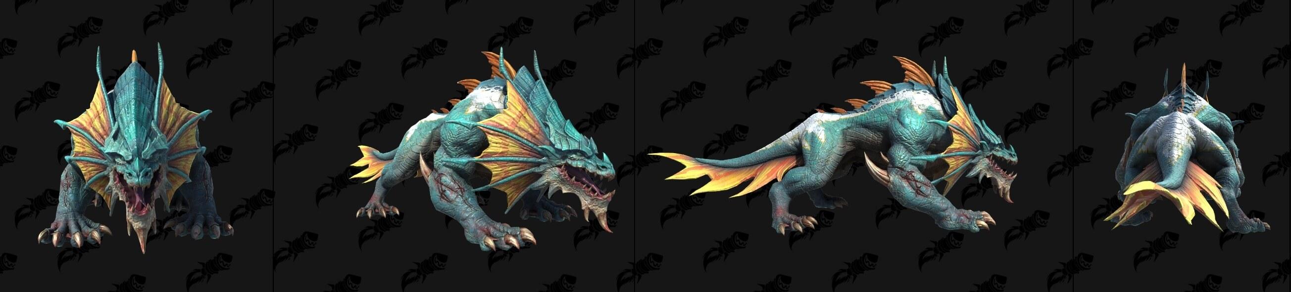 Морской варан Warcraft lll: Reforged