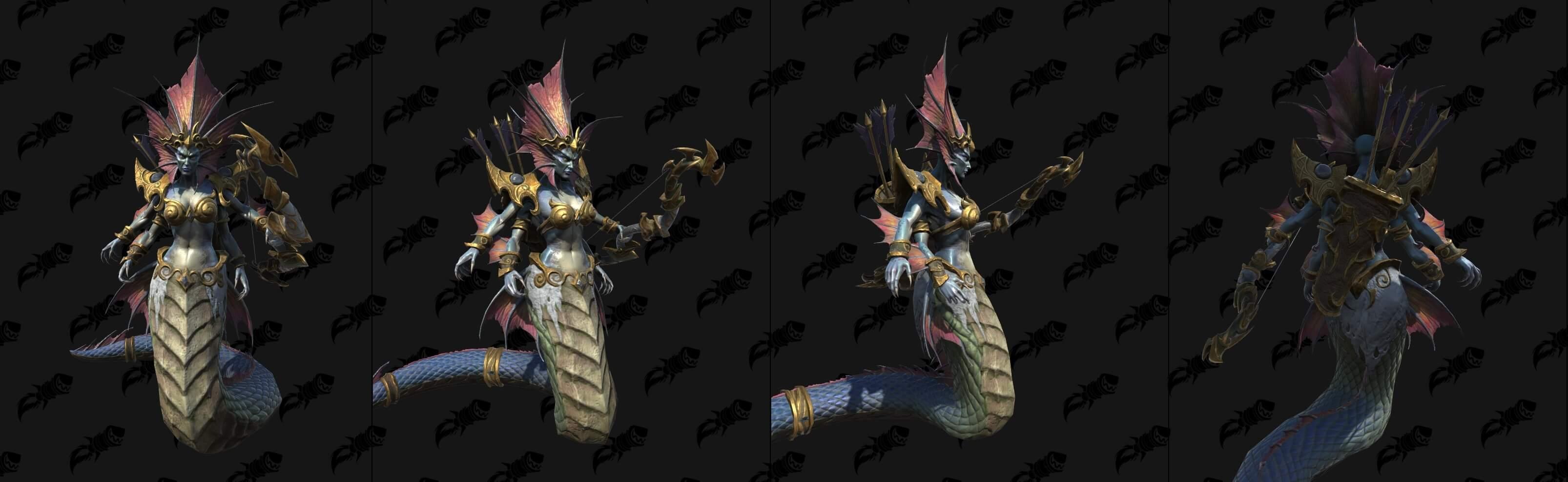 Нага-морская ведьма Warcraft lll: Reforged
