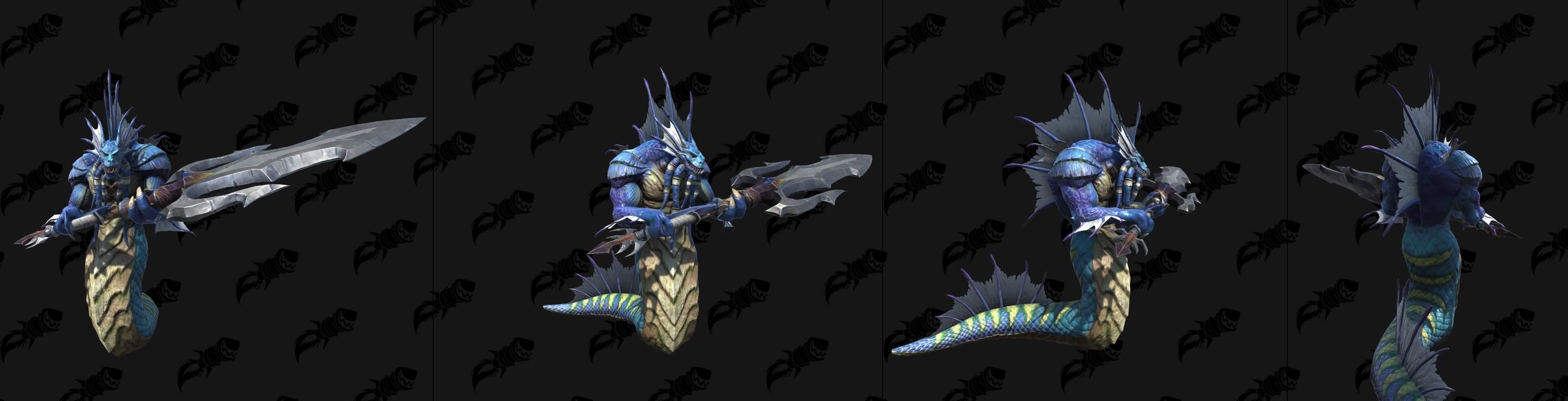 Нага-мирмидон Warcraft lll: Reforged