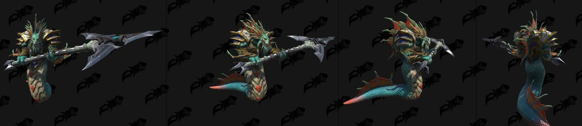 Нага-королевский страж Warcraft lll: Reforged