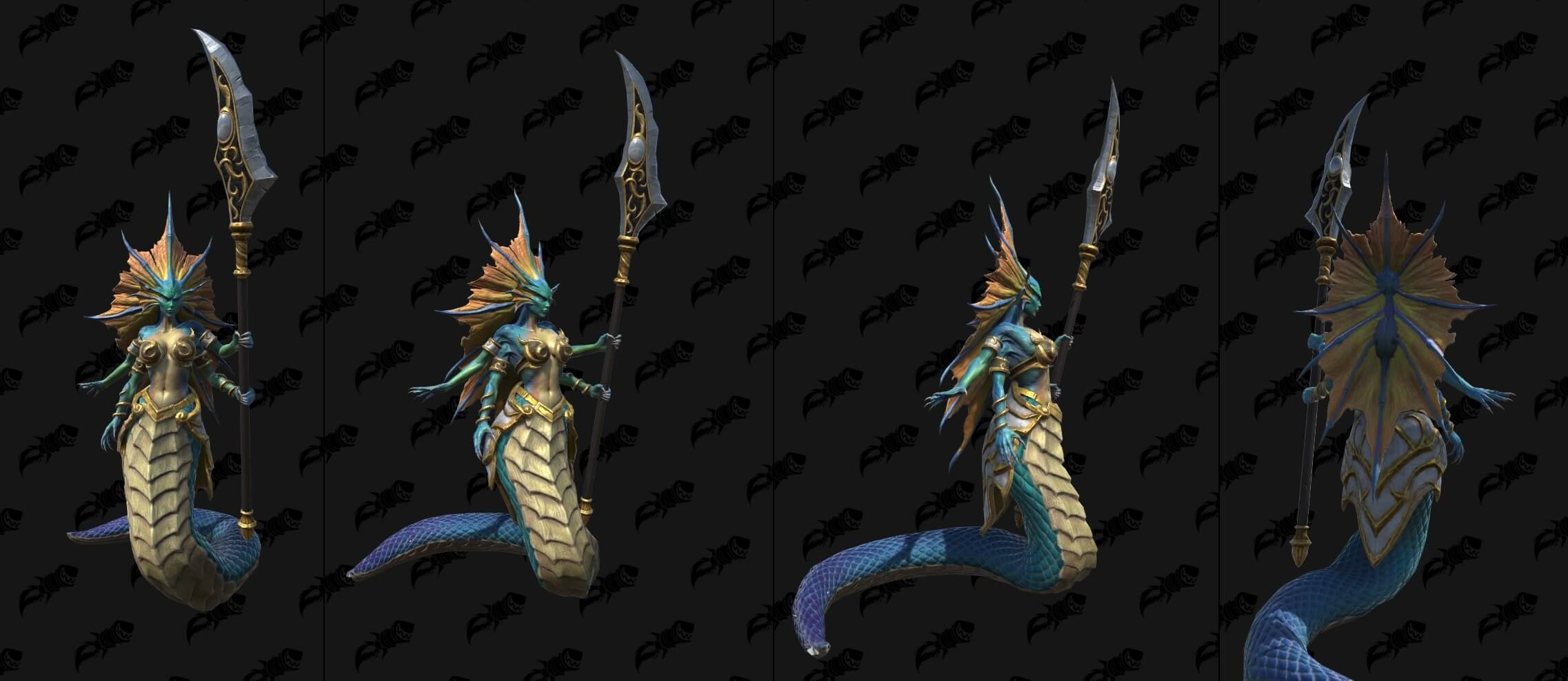 Нага-сирена Warcraft lll: Reforged
