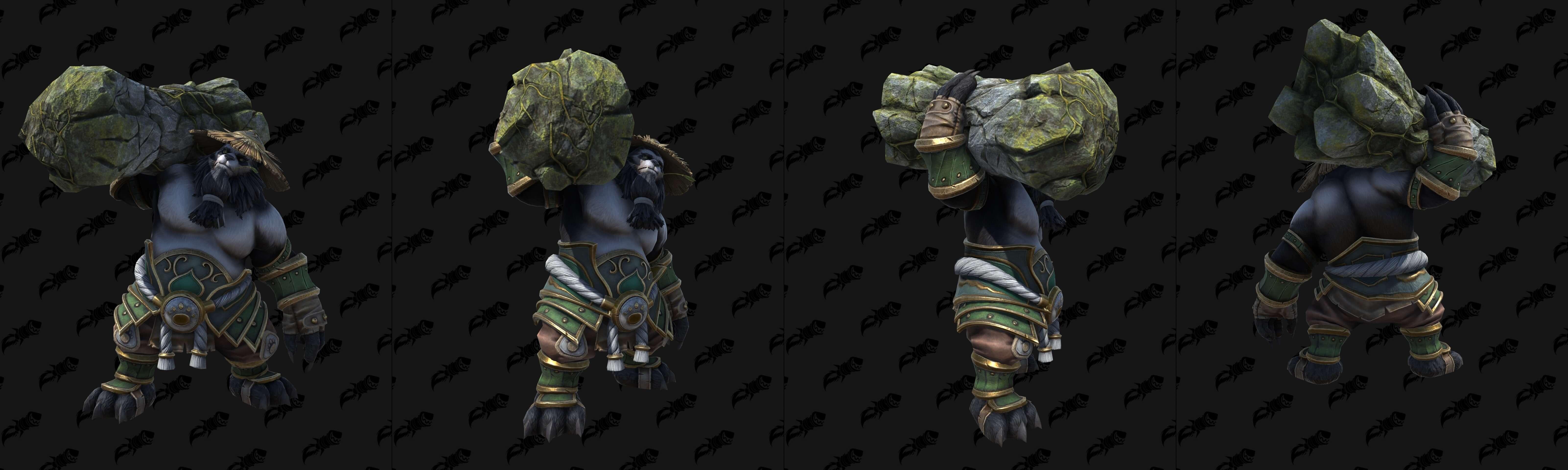 Чэнь Буйный Портер (Земля) Warcraft lll: Reforged
