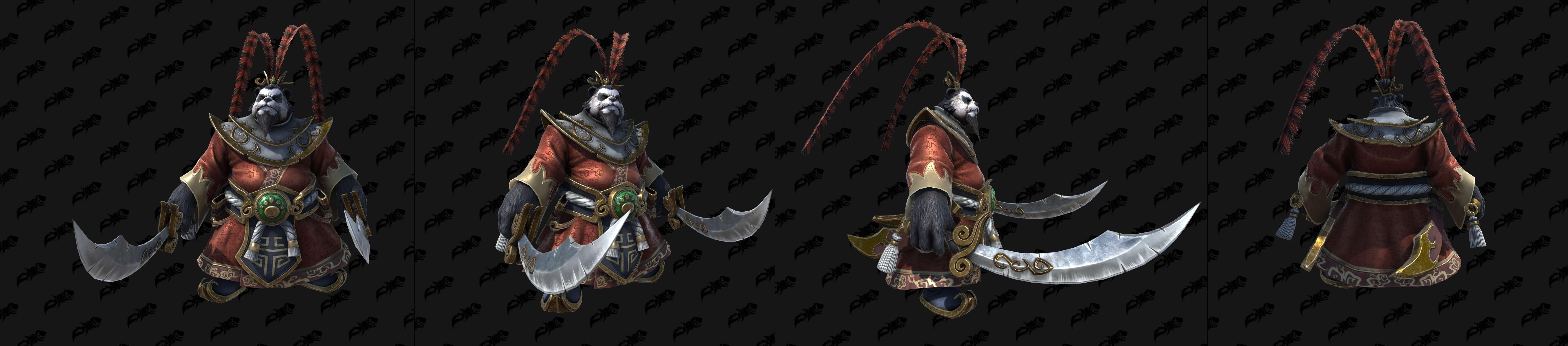 Чэнь Буйный Портер (Огонь) Warcraft lll: Reforged