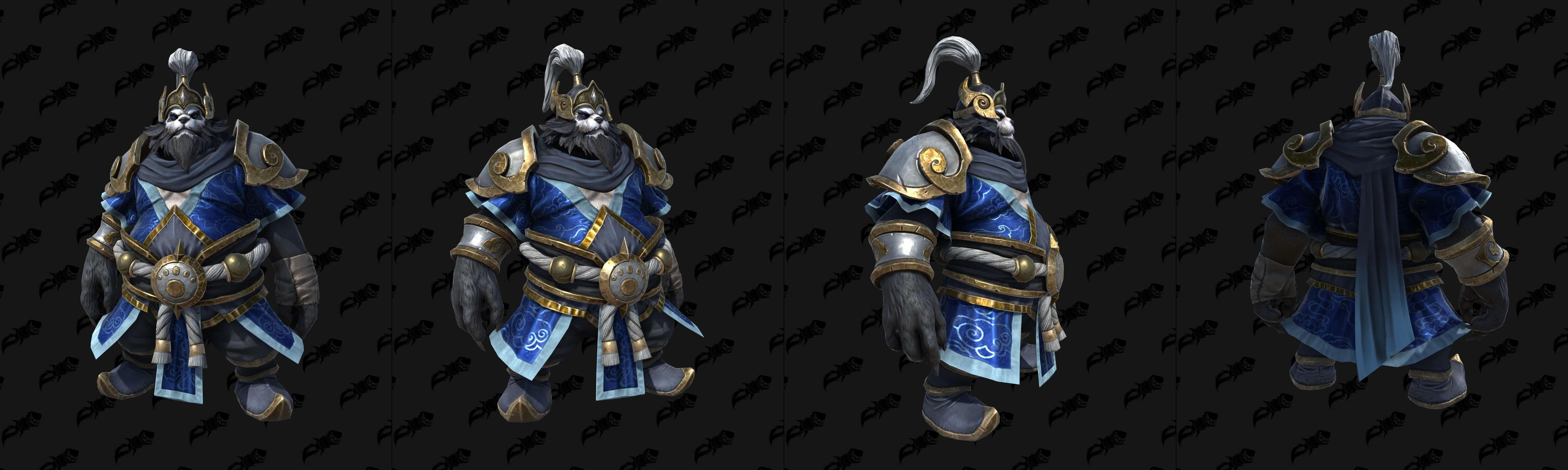 Чэнь Буйный Портер (Буря) Warcraft lll: Reforged
