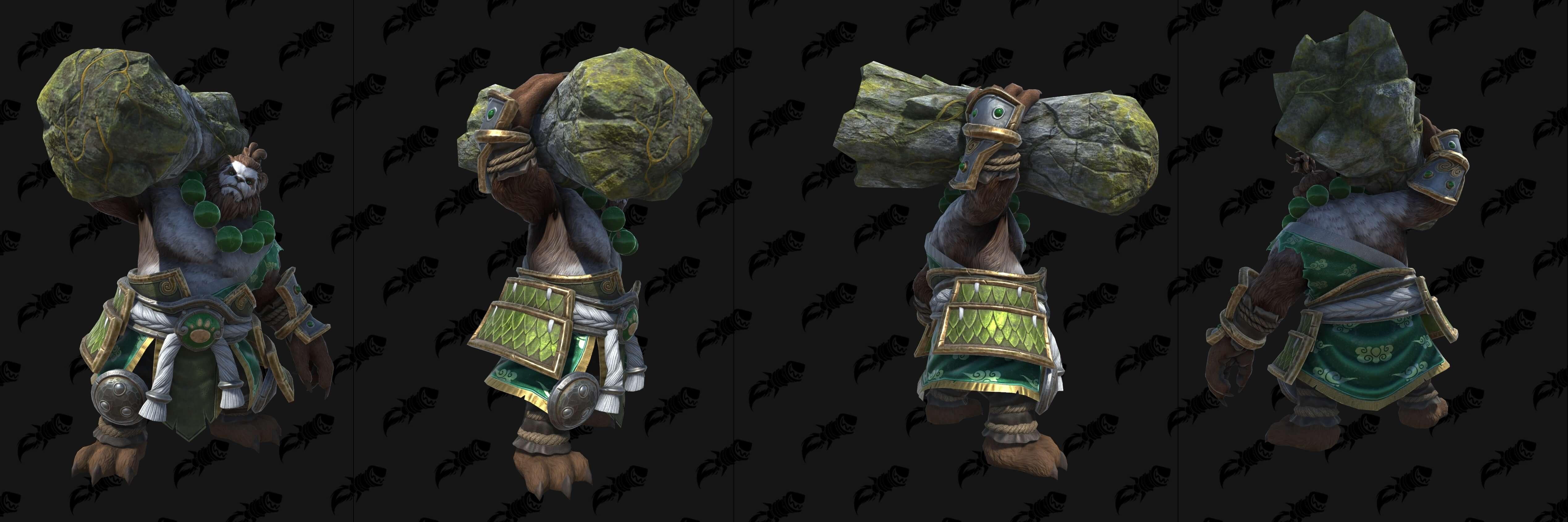 Пандарен-хмелевар (Земля) Warcraft lll: Reforged