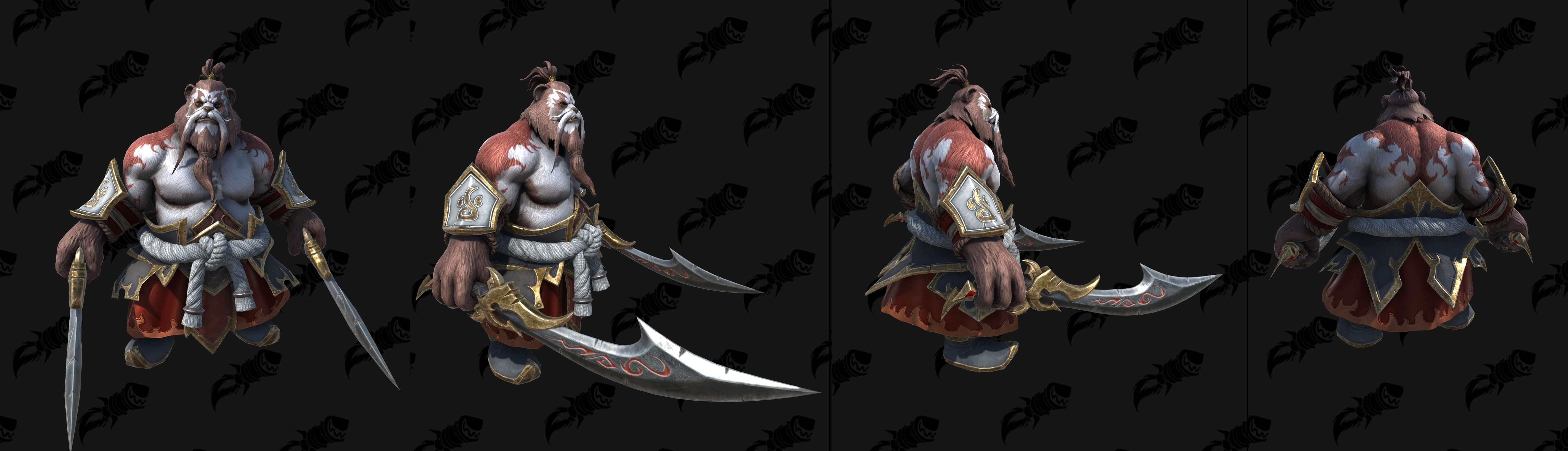 Пандарен-хмелевар (Огонь) Warcraft lll: Reforged