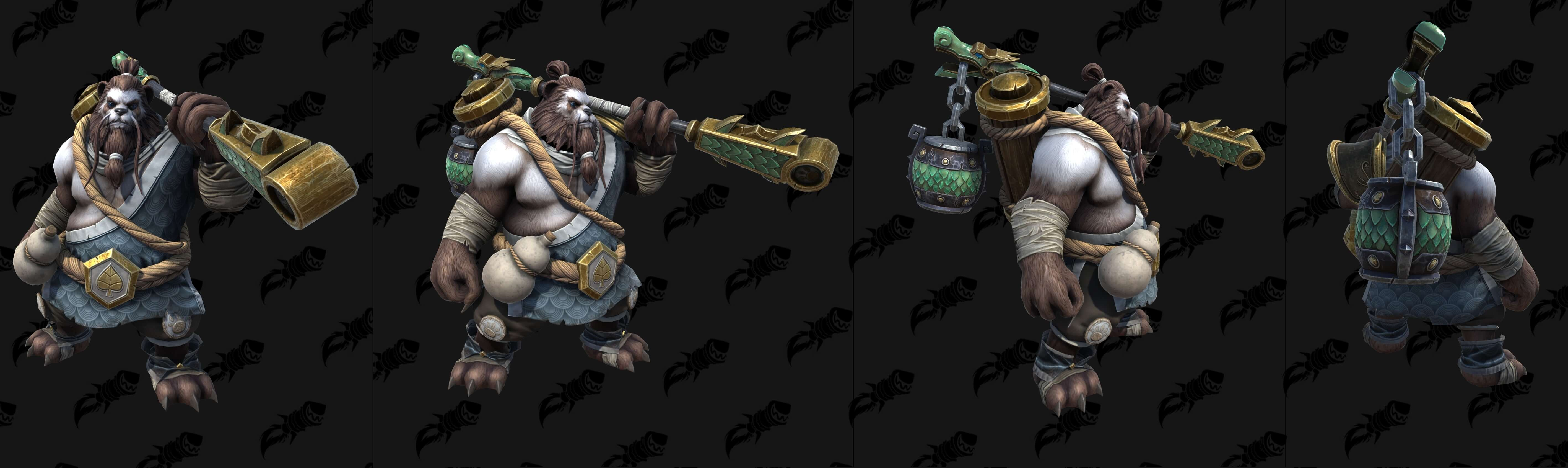 Пандарен-хмелевар Warcraft lll: Reforged