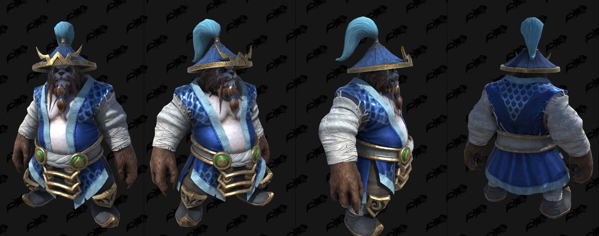 Пандарен-хмелевар (Буря) Warcraft lll: Reforged