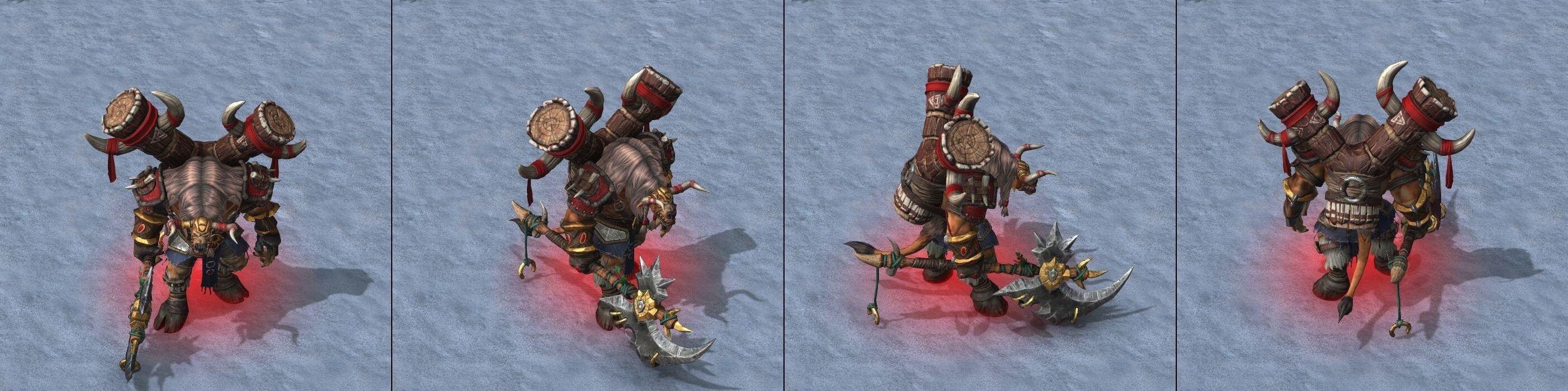 Вождь тауренов Warcraft lll