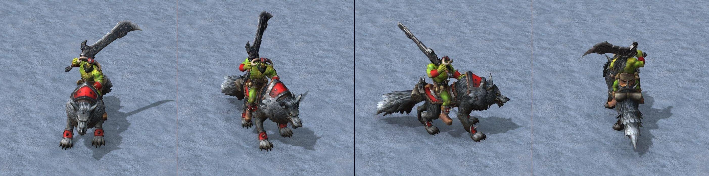 Волчий всадник Warcraft lll