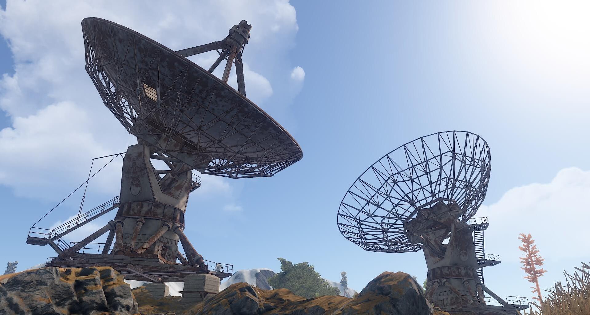 Спутниковая антенна Rust