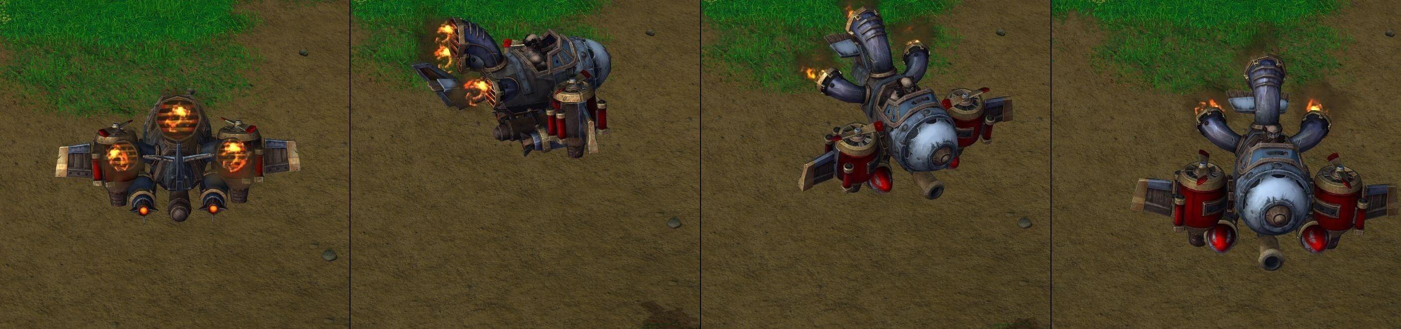 Вертолет Warcraft lll