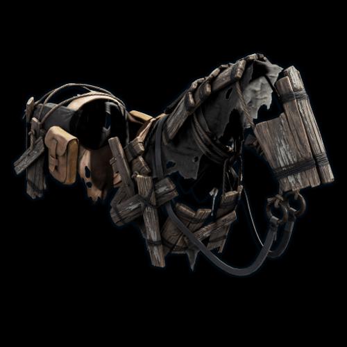 деревянные конные доспехи Rust