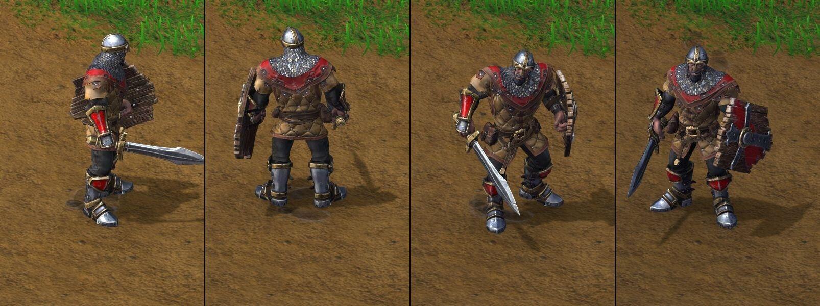 ополченец Warcraft lll