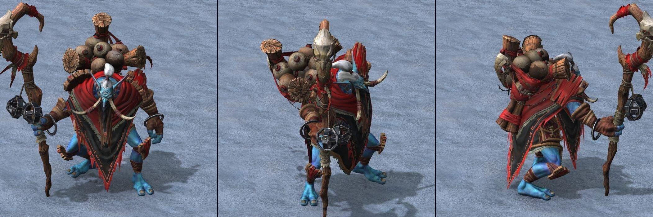 Тролль-знахарь Warcraft lll