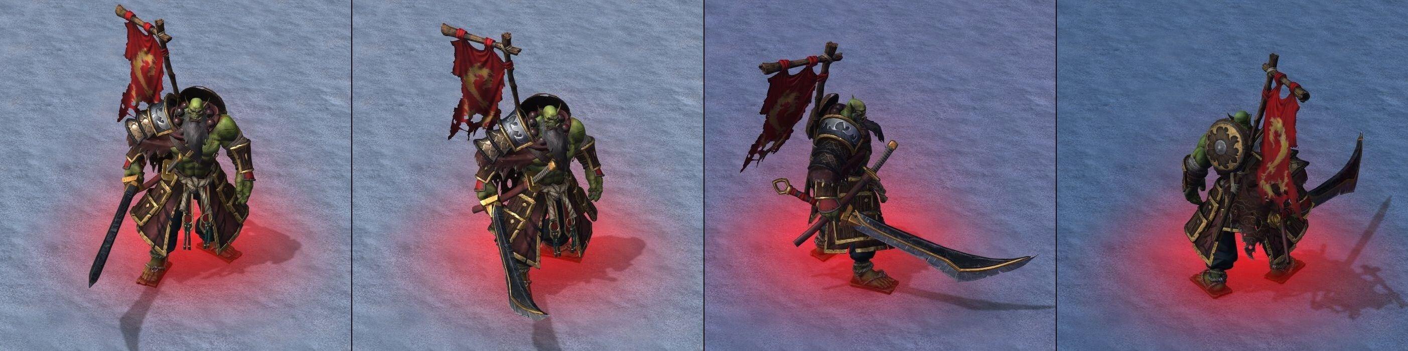 Мастер клинка Warcraft lll