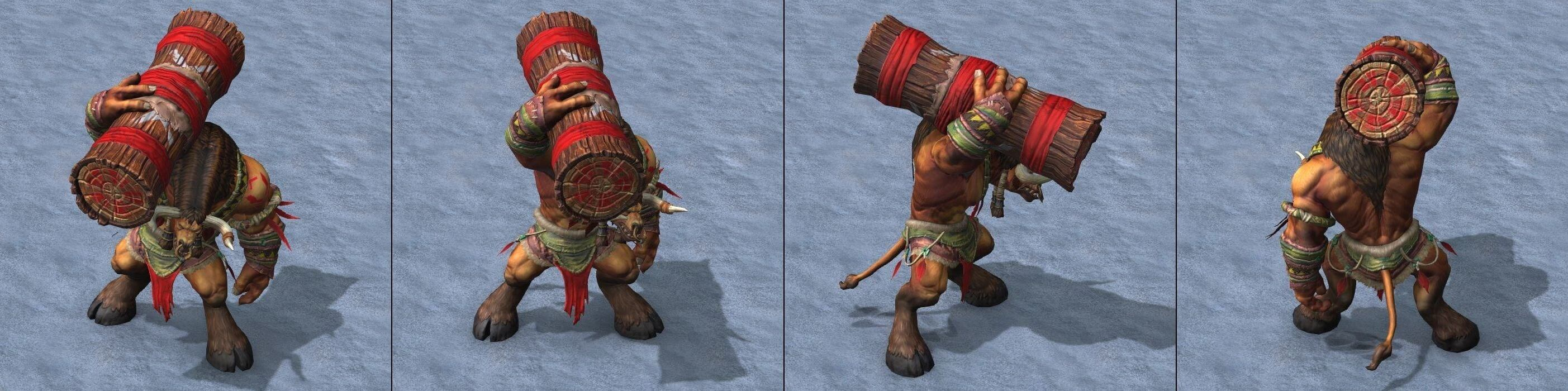 Таурен Warcraft lll