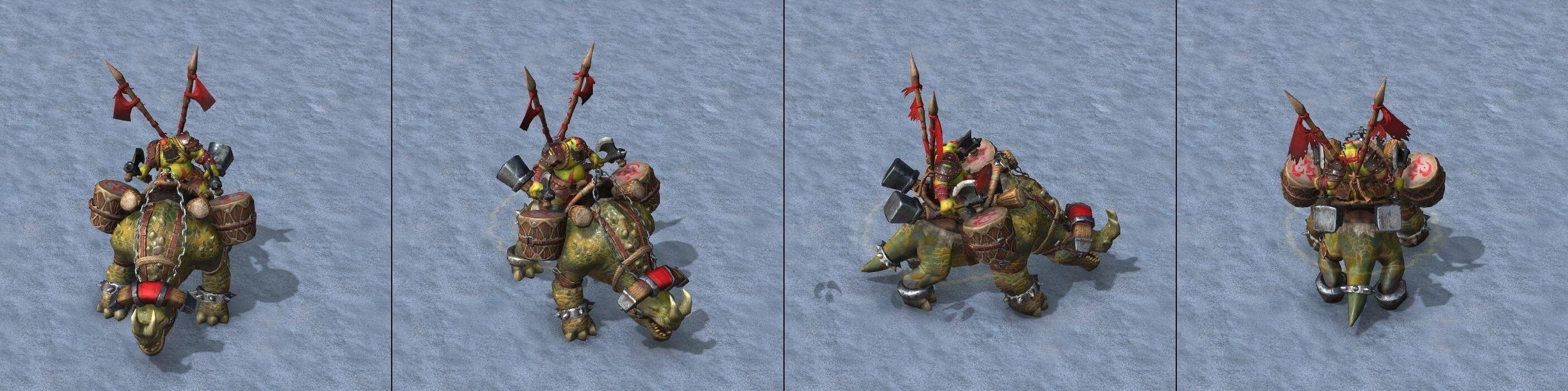 Наездник на кодо Warcraft lll