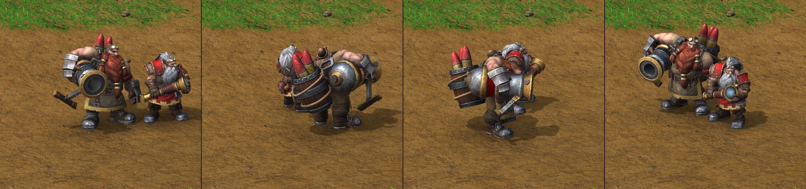 Оружейный расчет Warcraft lll